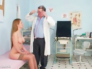 Doctor Babe Old and Young Gaping Gyno Hairy Babe
