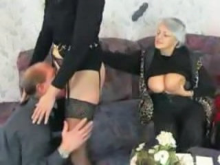 Granny German Threesome German Granny Granny German Granny Stockings