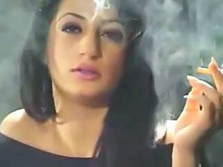 Arab Babe Smoking Arab