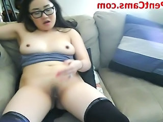 Chinese Glasses Masturbating Chinese Masturbating Webcam Webcam Asian