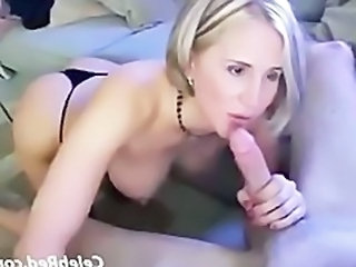 MILF Wife Amazing Blowjob Milf Cute Blonde Cute Blowjob