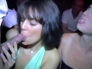 club sex with hot french woman