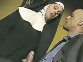 Nun Uniform Handjob