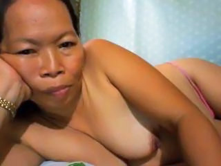 Granny Boobs Filipina Grandma