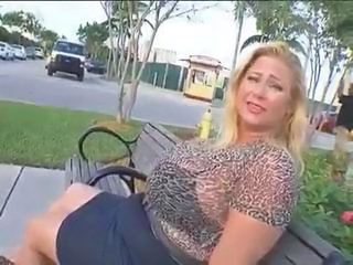 Public Outdoor  Bbw Milf Outdoor Public