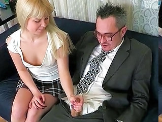 Daddy Handjob Old And Young Dad Teen Daddy Handjob Teen