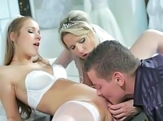 Wedding Threesome