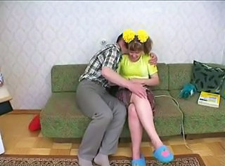Father seduced little daughter and fucked her..