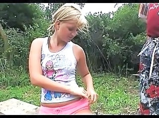 Outdoor Teen Babe Outdoor Grandpa Outdoor