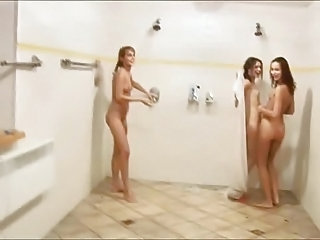 Showers Teen Threesome Shower Teen Teen Showers Teen Threesome