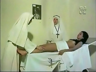 Nun Threesome Vintage Schoolgirl