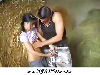 Farm Cute Teen Cute Teen Farm Outdoor