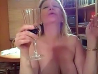 Drunk Smoking European Drunk Mature French Mature