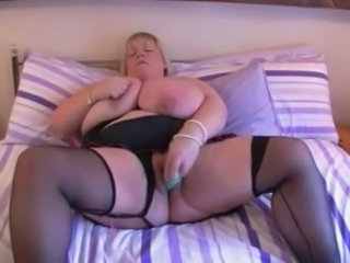Mature Stockings Toy Bbw Masturb Bbw Mature Bbw Tits