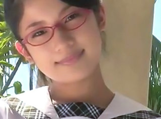 Softcore Cute Glasses Asian Babe Asian Teen Babe Ass