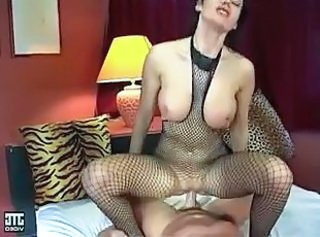 Fishnet Big Tits European Big Tits Milf Big Tits Riding Fishnet