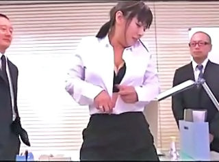 Office girl is in big trouble
