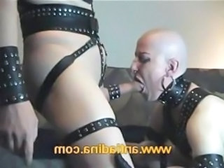 Piercing Fetish Goth Blowjob Latex