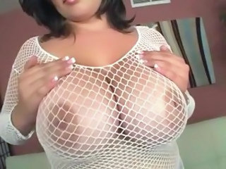 Fishnet Nipples BBW Alien Bbw Tits Big Tits Bbw