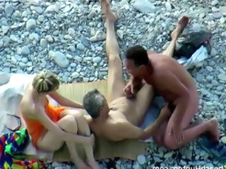 Bisexual Beach Sex