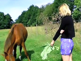 Farm Teen Outdoor Blonde Teen Farm Outdoor