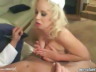 Huge Tits On Blonde Slutty Nurse