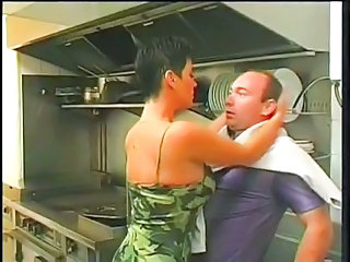 Uniform French Kitchen French Milf