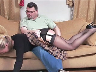 Stockings Spanking Old And Young Old And Young Stockings