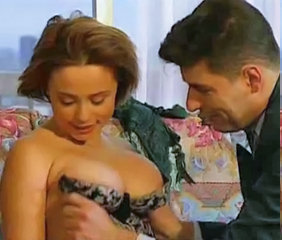 Pretty French Girl In Stockings Gets Fucked !