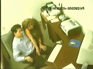 Office Voyeur HiddenCam Caught Surprise