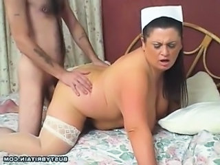 Big Tits Nurse Gives Relief