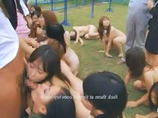 Train Asian Blowjob Orgy