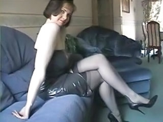 Stockings Amateur MILF Milf Stockings Nylon Pump