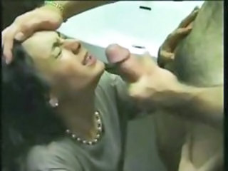 French Facial Cumshot  French French Milf Milf Facial