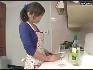 Drunk Kitchen Wife Housewife Japanese Housewife Japanese Wife