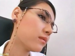 Babe Cute Glasses Asian Babe Babe Ass Cute Asian
