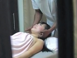 HiddenCam Wife Massage Massage Asian Spy Wife Ass