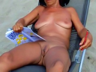 Beach Nudist Shaved Mature Pussy Nudist Beach Outdoor