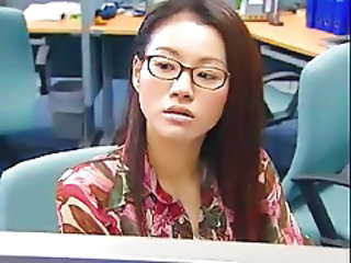 Glasses Office Asian Asian Teen Chinese Glasses Teen