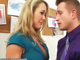 Blonde  Office Boss Milf Office Office Milf