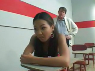 School Daddy Asian Asian Teen Classroom Dad Teen