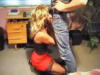 Office German Clothed Blowjob Mature German Blowjob German Mature