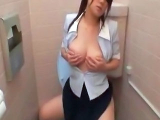 Asian Masturbating  Milf Asian Milf Office Office Milf