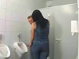 Video from: tube8 | Brunette German In Bathroom