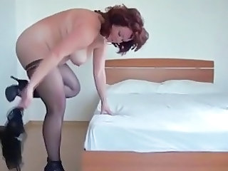 Mom Stockings  Bbw Milf Bbw Mom Dildo Milf