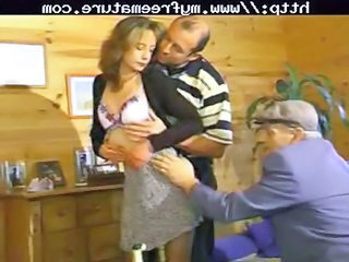 Russian Daddy Old And Young Daddy Mature Threesome Old And Young