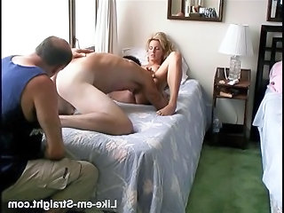 Cash Licking MILF Milf Threesome Threesome Milf