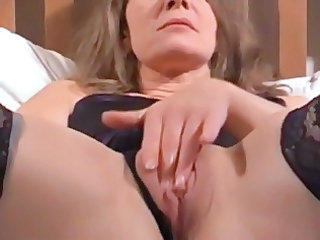 mature wife is acquiring filmed by hubby rubbing