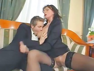 Stockings Clothed Old and Young Handjob Mature Mature Stockings Old And Young