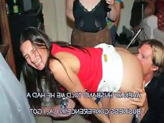 Cheating Drunk Wife Gangbanged B...
